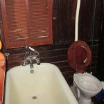 Malindi Railway Carriage Bathroom